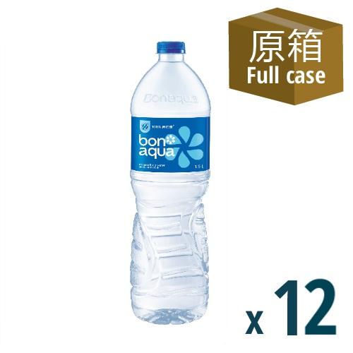Bonaqua Mineralized Water 1.5L