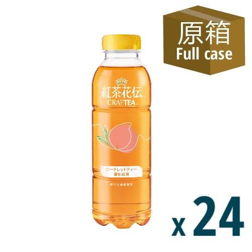 Kochakaden™ Craftea™ Peach Black Tea Beverage 500ml PET 24P