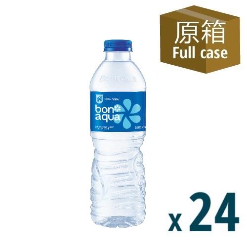 Bonaqua Mineralized Water 500mL 24P