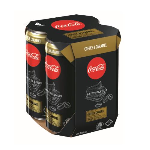 Coke Blend Caramel 4P
