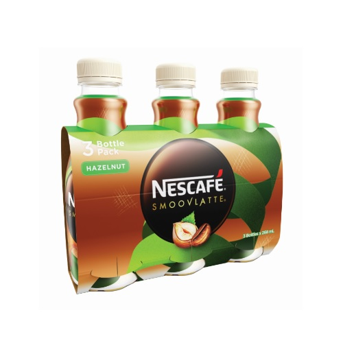 Nescafe Smoovlatte Hazelnut Flavour Coffee Beverage 268ml PET 3P