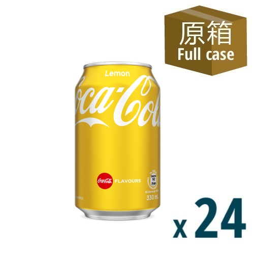 Coke Lemon Can 330ml