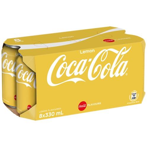 Coke Lemon 8P