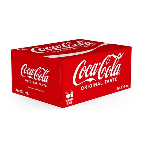 Coca-Cola Can 330ml 12P