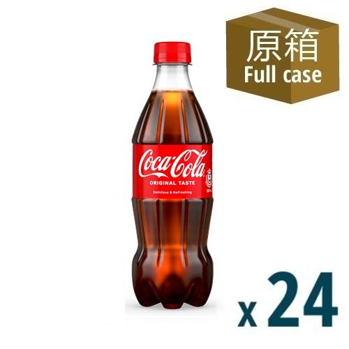 Coca-Cola PET 500ml 24P - 2021