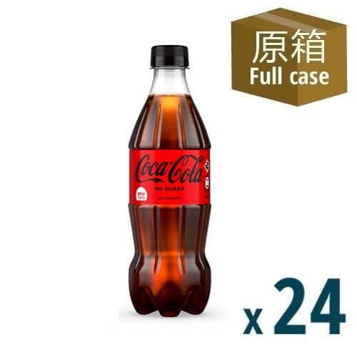 Coca-Cola No Sugar PET 500ml 24P